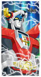 Voltron - Lightning Combine Beach Towel Beach Towel