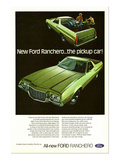 Ford 1972 Ranchero Pickup Car Prints