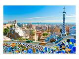Gaudi's Park Guell Barcelona Kunst