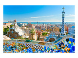 Gaudi's Park Guell Barcelona Prints