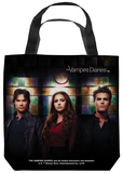 Vampire Diaries - Stained Glass Tote Bag Tote Bag