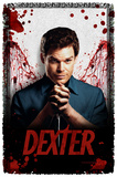 Dexter - Blood Never Lies - Woven Throw Throw Blanket