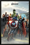 Avengers-Airbase Posters