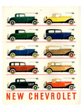 GM 10 New Chevrolet Print