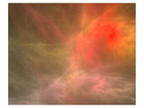 Fractal Cosmic Nebula Canvas Posters