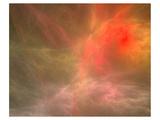 Fractal Cosmic Nebula Canvas Posters