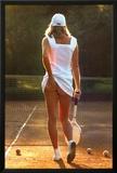 Chica tenista Lámina