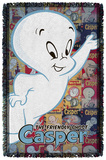 Casper The Friendly Ghost - Casper And Covers - Woven Throw Throw Blanket