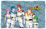Voltron - Team Fleece Blanket Fleece Blanket