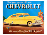 GM Chevrolet Feast Your Eyes Lámina