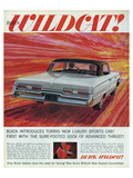 GM Buick-Wildcat Sports Car Posters