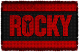 Rocky - Logo - Woven Throw Throw Blanket