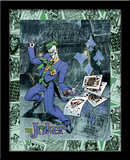 Joker'S Wild 3D Framed Art Poster