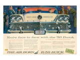 GM Buick B-58 Flight On Wheels Print