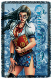 Zenescope - Grimmoire - Woven Throw Throw Blanket