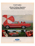 Ford 1967 Cool Combo Ranchero Print