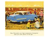 GM Chevrolet High Compression Art