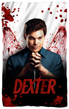Dexter - Blood Never Lies Fleece Blanket Fleece Blanket