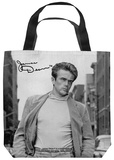 James Dean - Walk Tote Bag Tote Bag