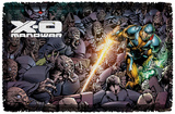 Xo Manowar - Legion - Woven Throw Throw Blanket