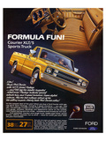 Ford 1982 Courier Sports Truck Poster