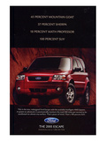 Ford 2004 Escape 100% SUV Prints