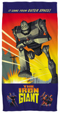Iron Giant - It Came From Space Beach Towel Beach Towel