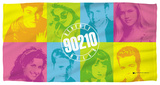 Beverly Hills 90210 - Color Blocks Beach Towel Beach Towel