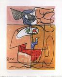 Unit Kunstdrucke von  Le Corbusier