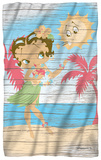 Betty Boop - Hula Boop Fleece Blanket Fleece Blanket