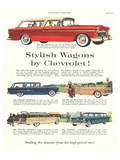 GM Chevrolet - Stylish Wagons Posters