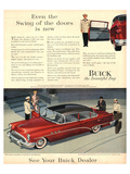 GM Buick - Swing of the Doors Posters