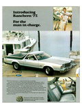 Ford 1977 Ranchero - in Charge Poster