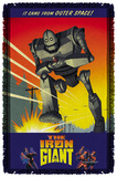 Iron Giant - It Came From Space - Woven Throw Throw Blanket
