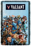 Valiant - Group Attack - Woven Throw Throw Blanket