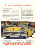 GM Air Born B-58 Buick-Miracle Print