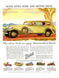 GM Buick-More and Better Miles Poster