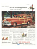 GM Chevrolet- Smoothest-Riding Affiches