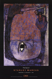 The Eye of Stanley Marcus Collectable Print by Ben Shahn