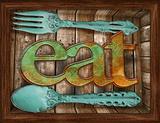 Eat 3D Framed Art Prints