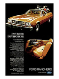 Ford 1973 Ranchero Easy Rider Posters