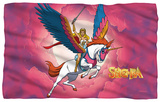 She Ra - Clouds Fleece Blanket Fleece Blanket