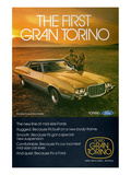 Ford 1972 Gran Torino 2-Door Prints
