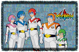 Voltron - Team - Woven Throw Throw Blanket