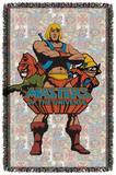 Masters Of The Universe - Heroes - Woven Throw Throw Blanket