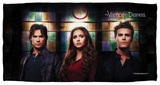 Vampire Diaries - Stained Glass Beach Towel Beach Towel