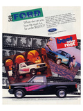 Ford 1992 Ranger - Never Rest Posters