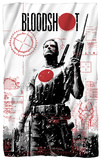 Bloodshot - Take Aim Fleece Blanket Fleece Blanket