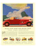 GM Buick - More & Better Miles Art