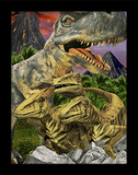 Dinosaur 3D Framed Art Affiches